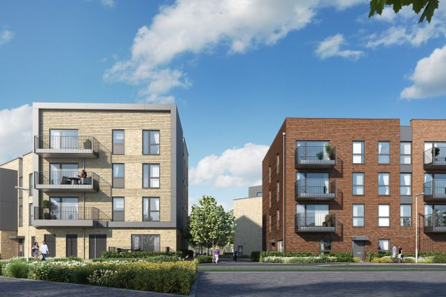Thumbnail Flat for sale in Off Long Road, Trumpington, Cambridge