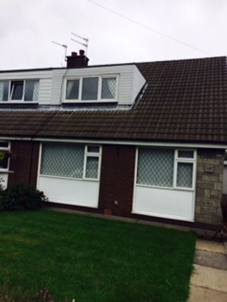 Thumbnail Terraced bungalow to rent in Meadway, Bury