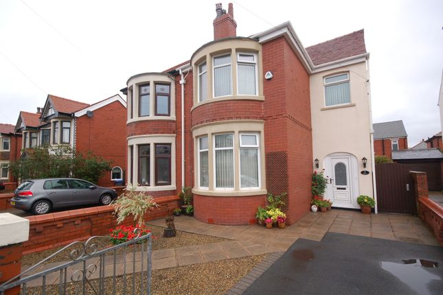Thumbnail Semi-detached house for sale in Roseacre, Blackpool