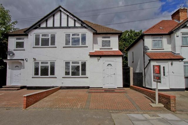 Thumbnail Semi-detached house to rent in 86 Clewer Crescent, Harrow Weald, Harrow, Middlesex