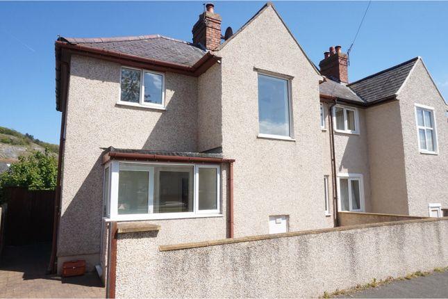 Thumbnail Semi-detached house for sale in Marl Avenue, Llandudno Junction