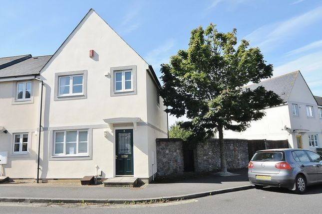 Thumbnail End terrace house for sale in Monica Walk, Plymouth