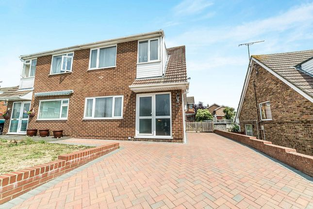 Thumbnail Semi-detached house for sale in Homewood Road, Sturry, Canterbury