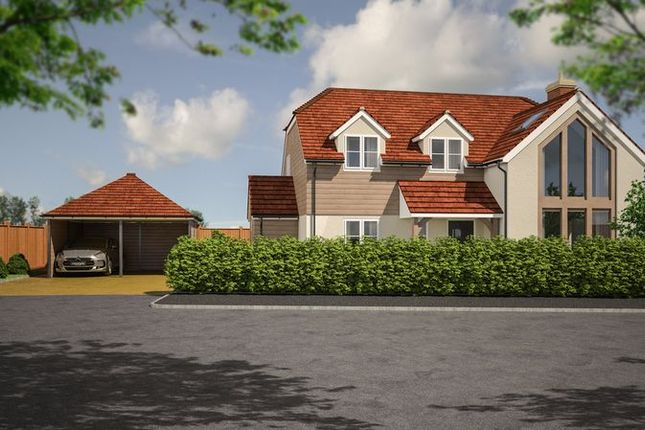 Thumbnail Detached house for sale in The Timbers, Fareham