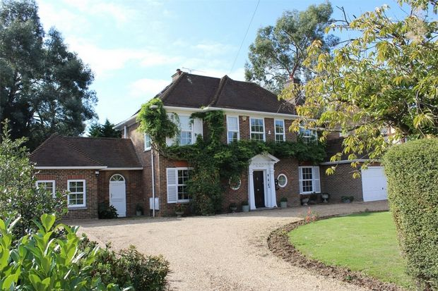 Thumbnail Detached house for sale in Woodside, Wigmore, Kent
