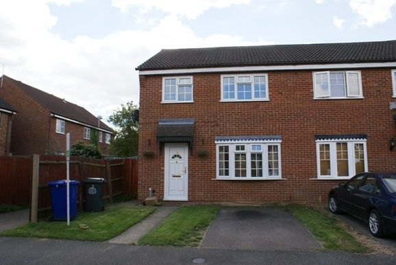 Thumbnail Semi-detached house to rent in Macpherson Robertson Way, Mildenhall, Bury St. Edmunds