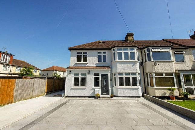 Thumbnail End terrace house for sale in Newby Close, Enfield Town