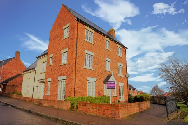 Thumbnail Detached house for sale in Village Drive, Lawley, Telford