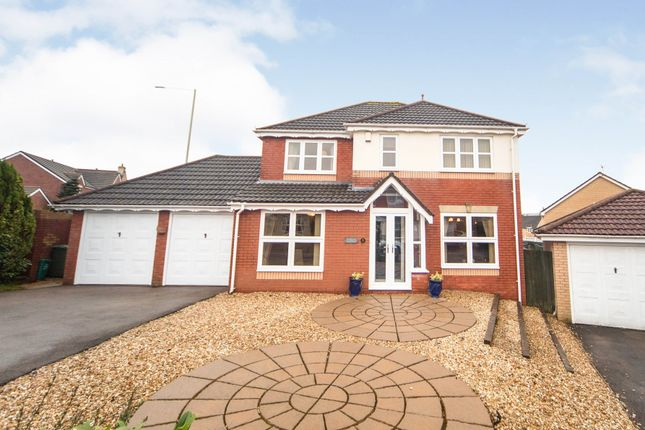 Thumbnail Detached house for sale in Oaklands, Miskin, Pontyclun