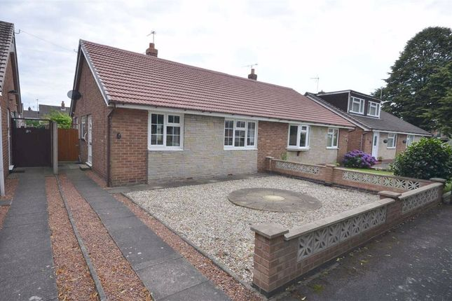 Thumbnail Semi-detached bungalow for sale in Clinton Gardens, Walton, Stone