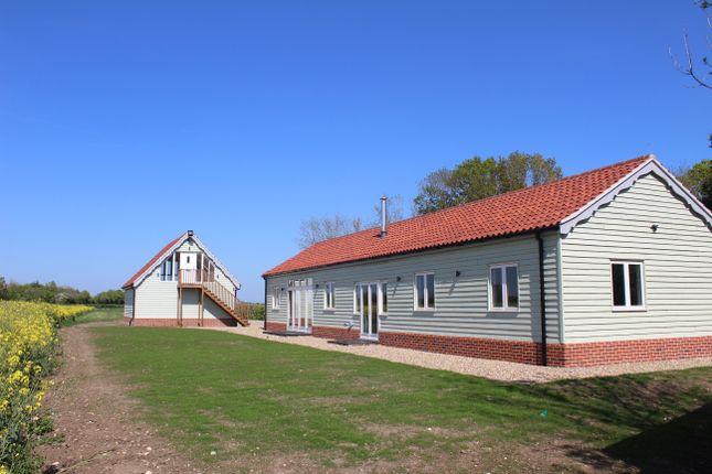 Thumbnail Barn conversion for sale in Barley Haven, Fingal Street, Worlingworth, Woodbridge, Suffolk