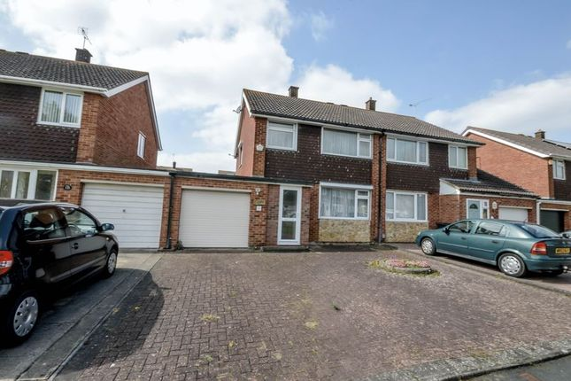 Thumbnail Semi-detached house for sale in Fitzmaurice Close, Swindon