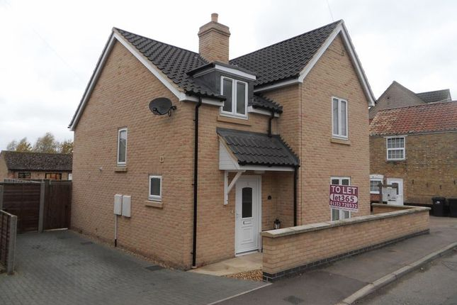 Thumbnail Detached house to rent in Mereside, Soham, Ely