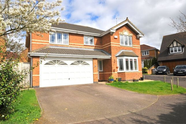 Thumbnail Detached house for sale in Wells Close, Kettering, Northants