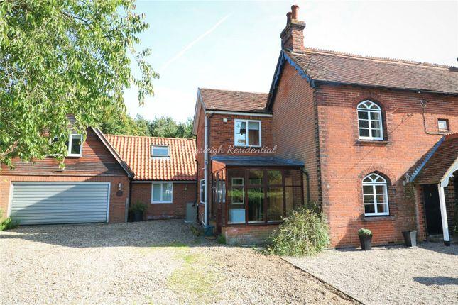 Thumbnail Semi-detached house for sale in Chestnut Cottage, Boxhouse Lane, Dedham, Colchester