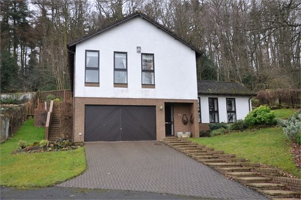 Thumbnail Detached house for sale in Hackwood Park, Hexham, Northumberland.