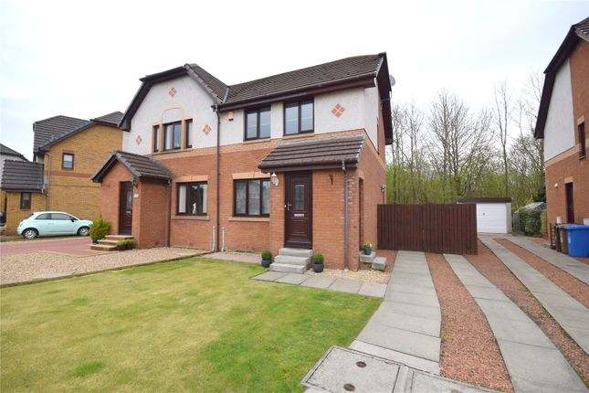 Thumbnail Semi-detached house for sale in Gleneagles Place, Irvine, North Ayrshire