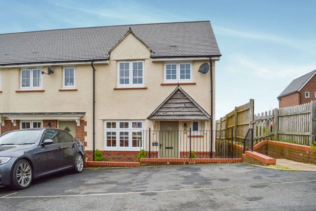 Thumbnail End terrace house for sale in Manor View, Trelewis, Treharris