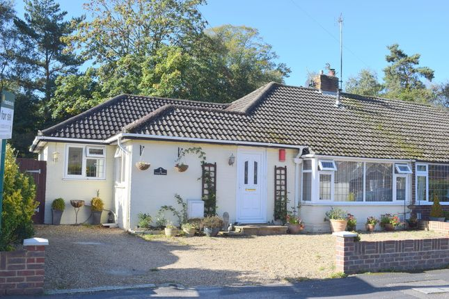 Thumbnail Semi-detached bungalow for sale in Pondtail Gardens, Fleet