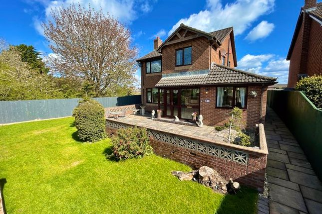 4 bed detached house for sale in Briar Lea Court, Longtown, Carlisle CA6