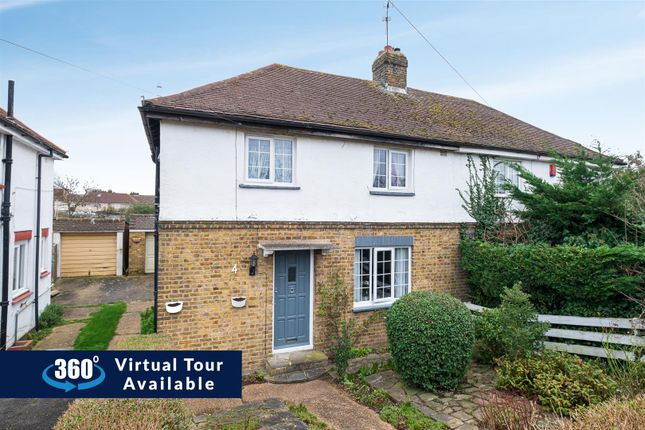 Thumbnail Semi-detached house for sale in Kingston Avenue, Yiewsley, West Drayton