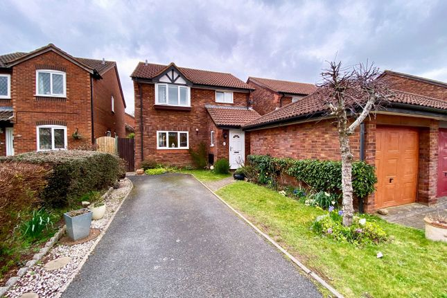 Thumbnail Detached house for sale in Loram Way, Alphington, Exeter