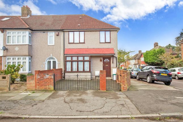 Thumbnail End terrace house for sale in South Park Crescent, Catford, London