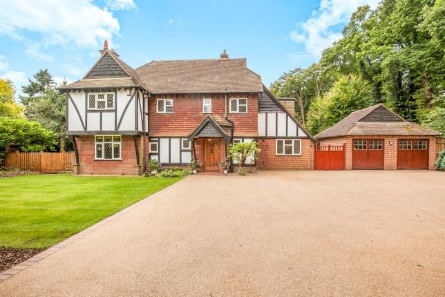 Thumbnail Detached house for sale in Ottershaw, Surrey