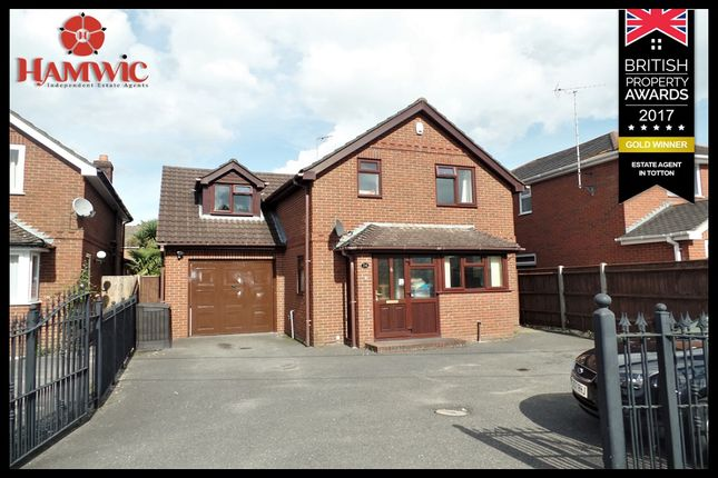 Thumbnail Detached house for sale in Hammonds Green, Southampton