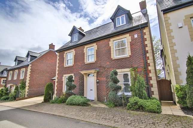 Thumbnail Detached house for sale in Croesonen Gardens, Abergavenny
