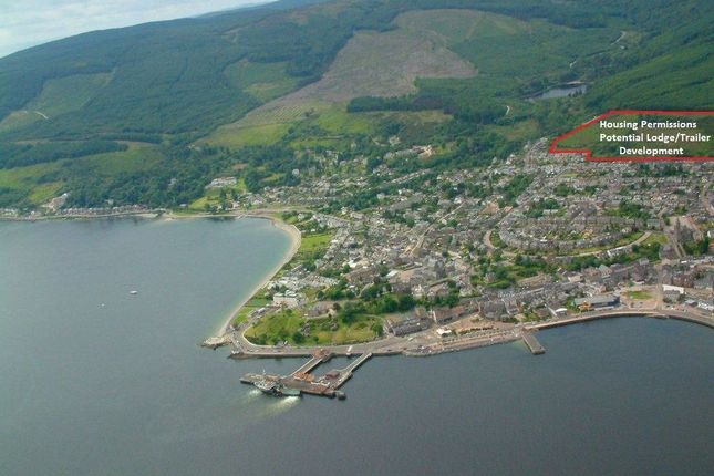 Thumbnail Land for sale in Gordon Street, Dunoon