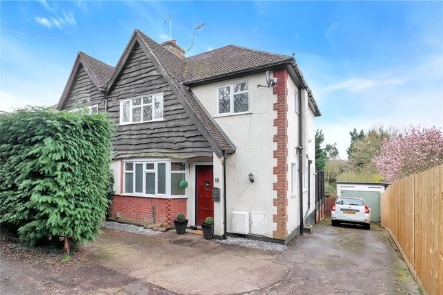 Thumbnail Semi-detached house for sale in Gallows Hill, Kings Langley