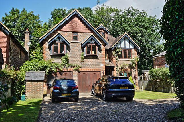 Thumbnail Detached house to rent in Blackbridge Road, Hook Heath, Woking