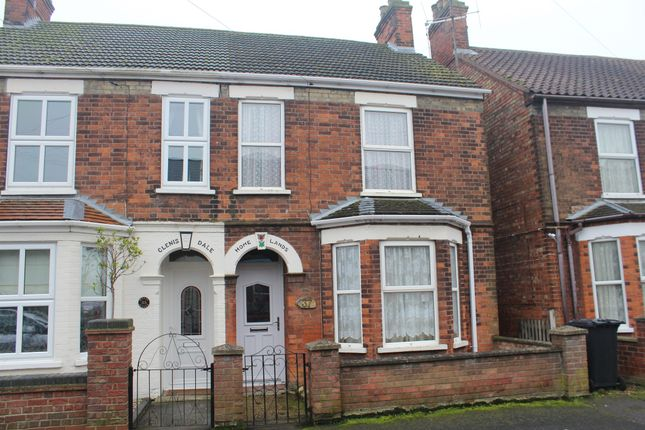 Thumbnail Semi-detached house for sale in Queens Avenue, King's Lynn