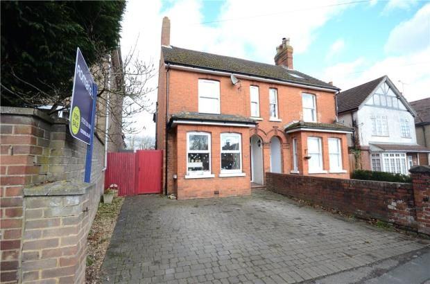 Thumbnail Semi-detached house for sale in Rectory Road, Farnborough, Hampshire