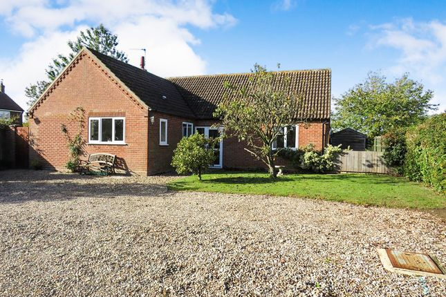 Thumbnail Detached bungalow for sale in The Street, Barney, Fakenham