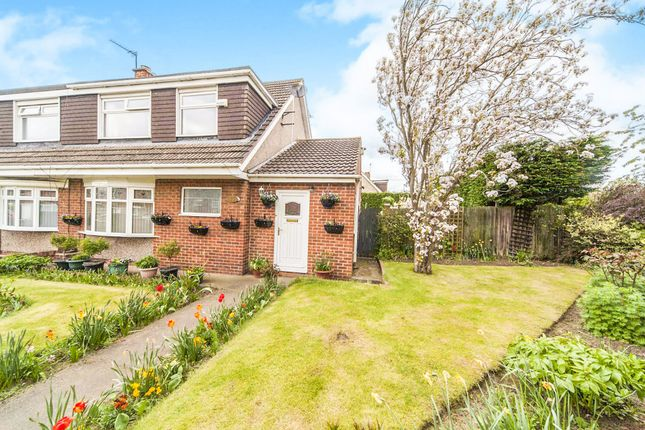 Thumbnail End terrace house for sale in Dunlin Close, Norton, Stockton-On-Tees