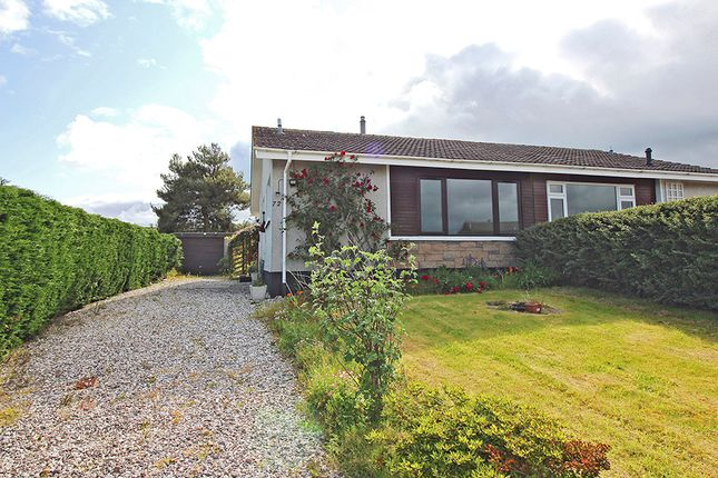 Thumbnail Semi-detached bungalow for sale in 72 Braeside Park, Balloch, Inverness