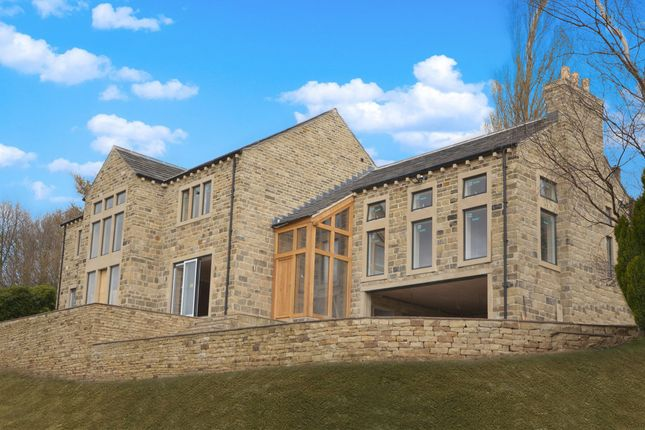 Thumbnail Detached house for sale in Broad Lane, Upperthong, Holmfirth