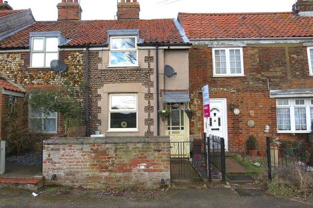 Thumbnail Terraced house for sale in The Green, Hempton, Fakenham
