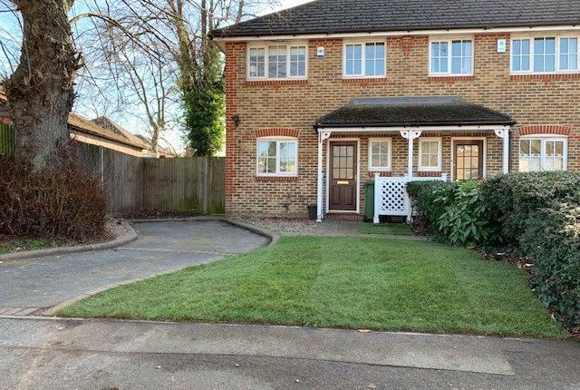 Thumbnail End terrace house for sale in Park Road, Hackbridge, Wallington