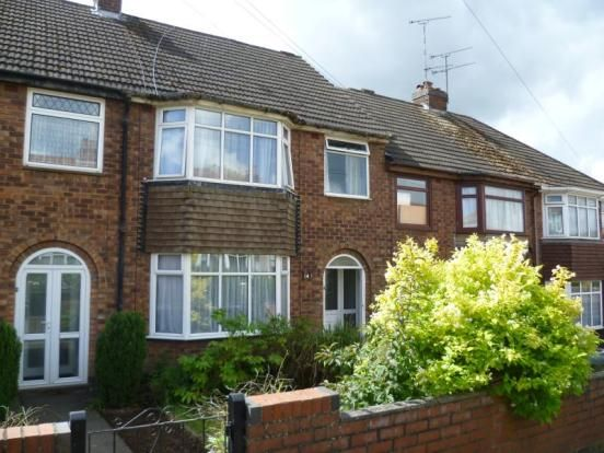 Thumbnail Terraced house to rent in Knight Avenue, Stoke, Coventry
