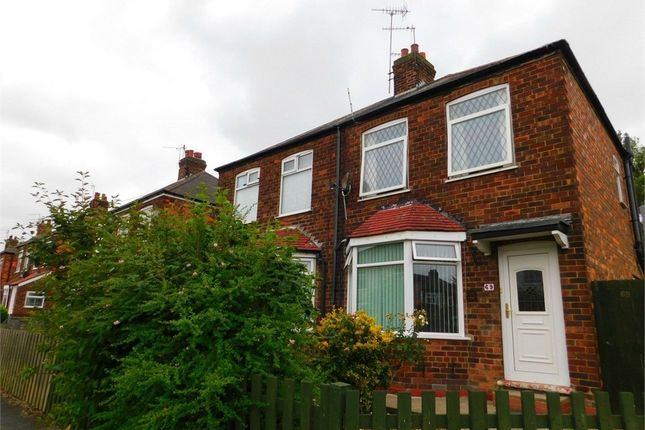 Thumbnail Semi-detached house for sale in Campion Avenue, Hull, East Riding Of Yorkshire