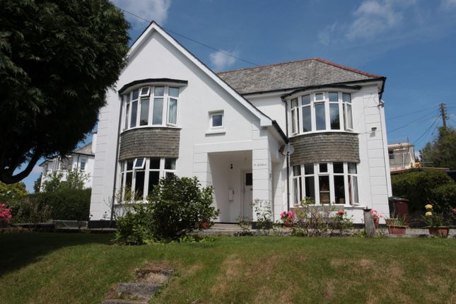 Thumbnail Detached house for sale in 14 North Hill Park, St Austell, Cornwall