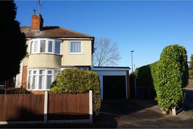 Thumbnail Semi-detached house for sale in Strathmore Avenue, Alvaston