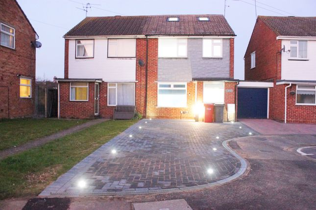 Thumbnail Semi-detached house for sale in Lorne Close, Slough