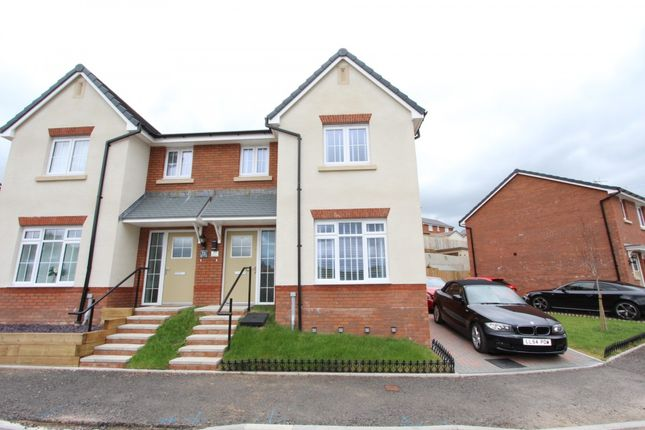 Thumbnail Semi-detached house for sale in Highfields, Coed Ely -, Tonyrefail