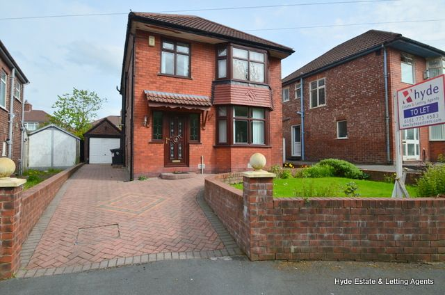 Thumbnail Detached house to rent in Carill Avenue, Blackley, Manchester