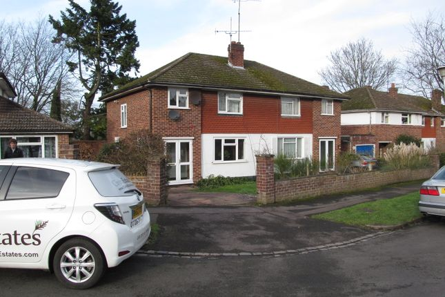 Thumbnail Semi-detached house to rent in Waybrook Crescent, Reading