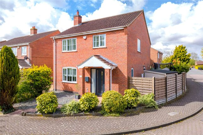 3 bed detached house for sale in Meadow Road, Dunston, Lincoln LN4
